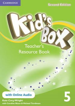 Kid's Box 2nd Edition 5 Teacher's Resource Book + Online Audio