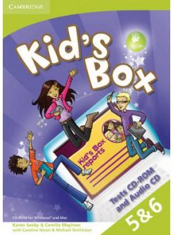 Kid's Box 2nd Edition 5&6 Tests CD-ROM + Audio CD