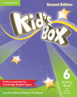 Kid's Box 2nd Edition 6 AB + Online Resources 4