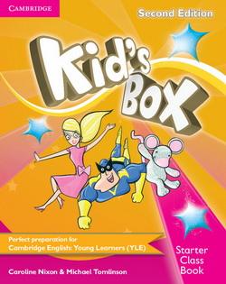 Kid's Box 2nd Edition Starter CB + CD-ROM 4