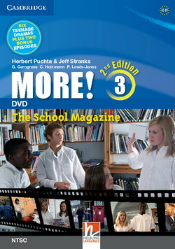 More! 2nd Edition 3 DVD