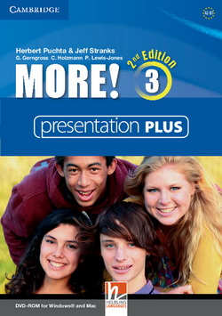 More! 2nd Edition 3 Presentation Plus DVD-ROM