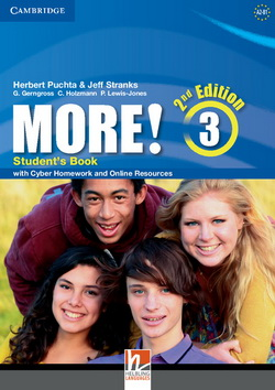 More! 2nd Edition 3 SB + Cyber Homework + Online Resources