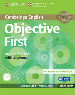 Objective First 4th Edition Student's Pack (SB w/o key + CD-ROM
