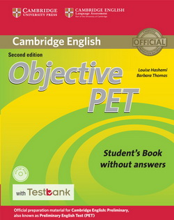 Objective PET 2nd Edition SB w/o key + CD-ROM + Testbank