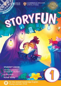 Storyfun 2nd Edition 1 (Starters) SB + Online Activities + Home Fun Booklet 4