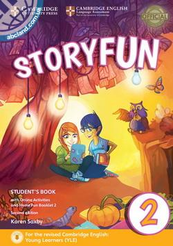 Storyfun 2nd Edition 2 (Starters) SB + Online Activities + Home Fun Booklet