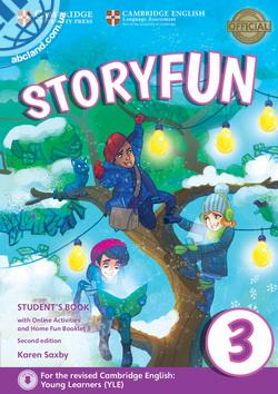 Storyfun 2nd Edition 3 (Movers) SB + Online Activities + Home Fun Booklet 4