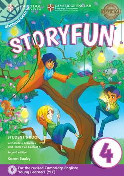 Storyfun 2nd Edition 4 (Movers) SB + Online Activities + Home Fun Booklet