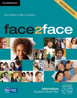 face2face 2nd Edition Intermediate SB + DVD-ROM + Online Workbook