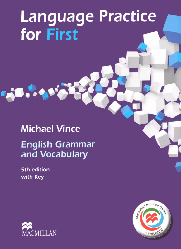 Language Practice for First 5th Edition — English Grammar and Vocabulary with key and MPO