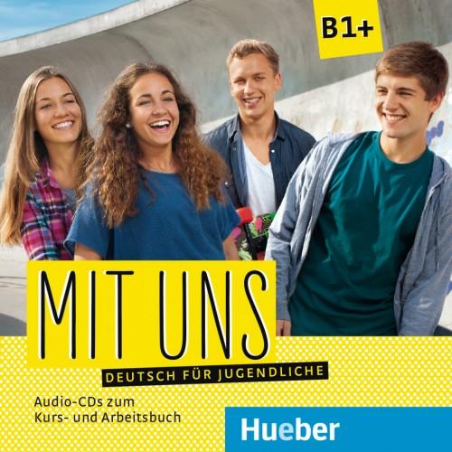 Mit uns B1+. 1 Audio-CD zum Kursbuch