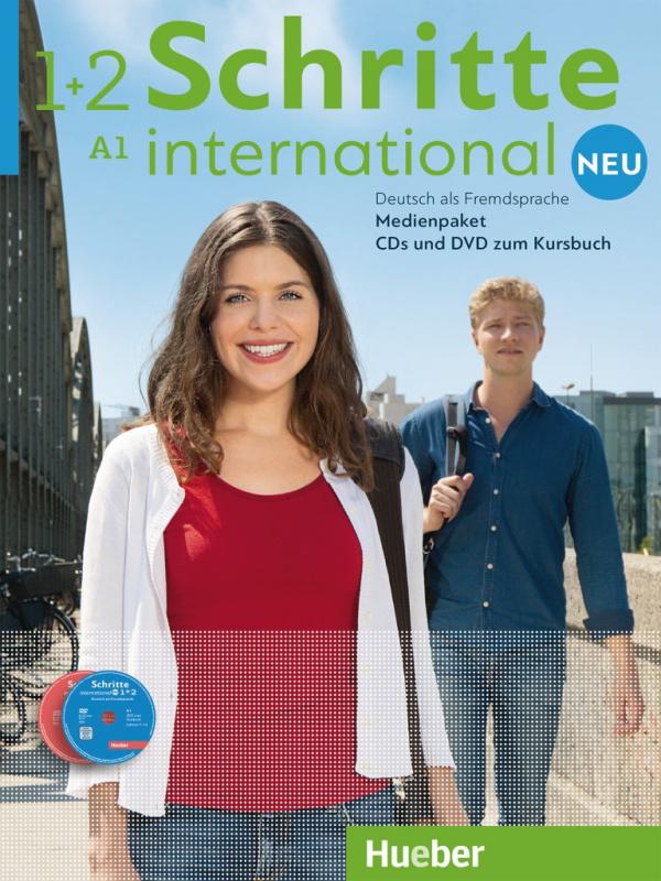 Schritte international Neu 1+2 Medienpaket. 5 Audio-CDs und 1 DVD zum Kursbuch