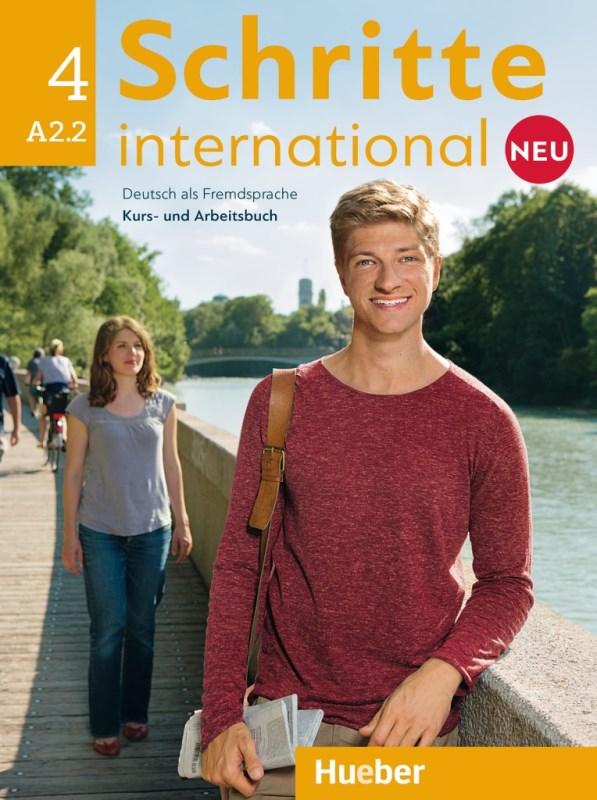 Schritte international Neu 4 Kurs- und Arbeitsbuch mit Audio-CD zum Arbeitsbuch