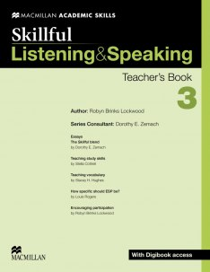 Skillful: Listening and Speaking 3 Teacher's Book with Digibook access