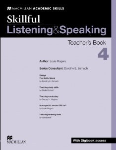 Skillful: Listening and Speaking 4 Teacher's Book with Digibook access