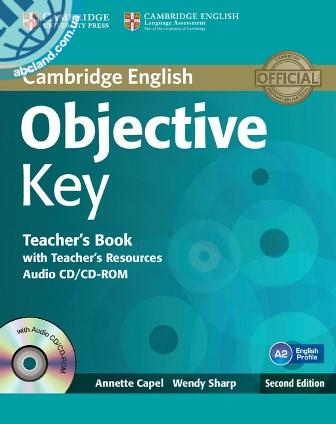 Objective Key 2nd Edition Teacher's Book + Teacher's Resources Audio CD/CD-ROM