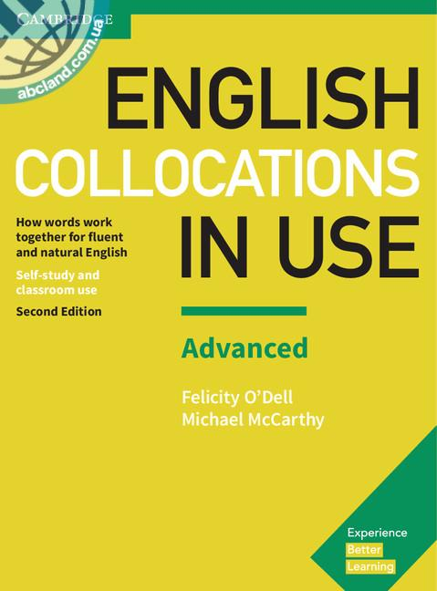 English Collocations in Use 2nd Edition Advanced + key