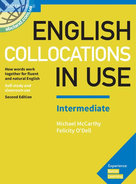 English Collocations in Use 2nd Edition Intermediate + key