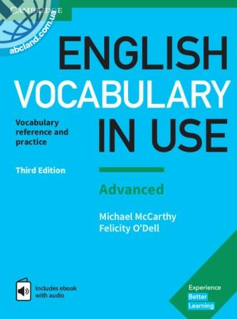 English Vocabulary in Use 3rd Edition Advanced + eBook