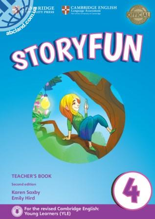 Storyfun 2nd Edition 4 (Movers) Teacher's Book + Downloadable Audio