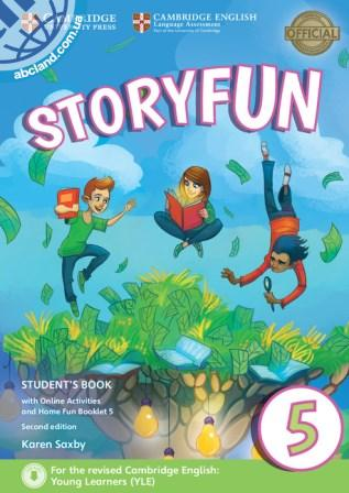 Storyfun 2nd Edition 5 (Flyers) Student's Book + Online Activities + Home Fun Booklet