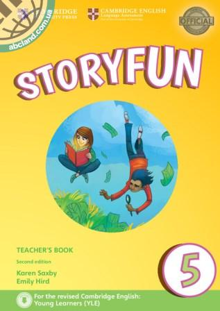 Storyfun 2nd Edition 5 (Flyers) Teacher's Book + Downloadable Audio