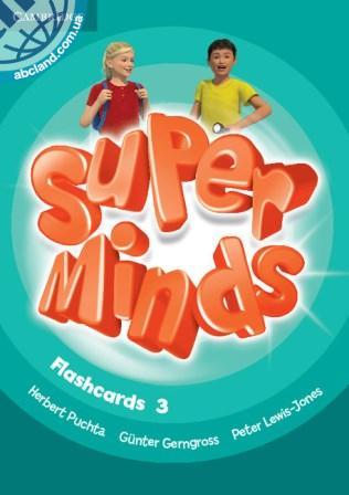 Super Minds 3 Flashcards