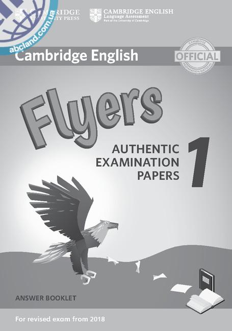 Cambridge English Flyers 1 for Revised Exam from 2018 Answer Booklet