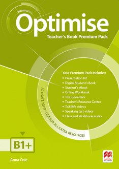 Optimise B1+ Teacher's Book Premium Pack