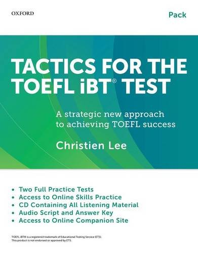Tactics for the TOEFL iBT Test Pack with Audio CDs