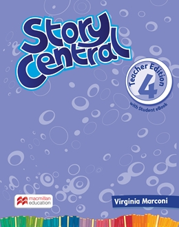 Story Central 4 Teacher Edition Pack with eBook