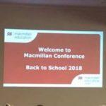 Конференция издательства Macmillan«Back to School 2018»