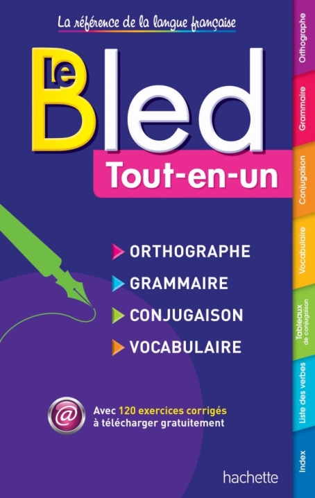 BLED Orthographe - Grammaire - Conjugaison - Vocabulaire NEW