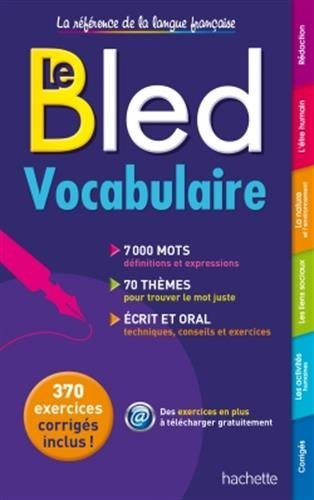 BLED Vocabulaire de franсais NEW