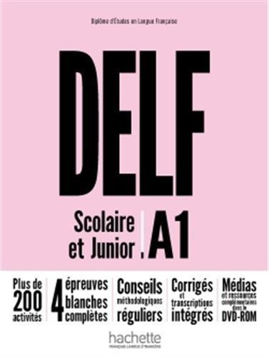 DELF A1 scolaire et junior Nouvelle Edition/ Livre + + DVD-ROM (audio et video)