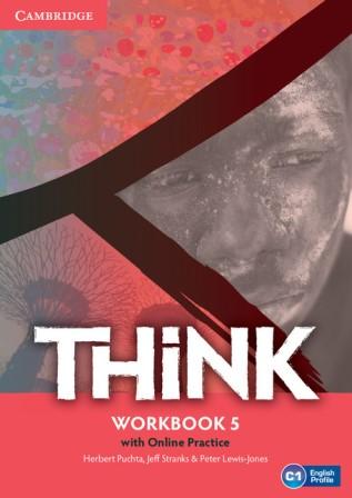 Think 5 Workbook with Online Practice