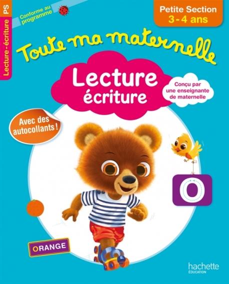 Toute Ma Maternelle - Lecture Écriture Petite Section (3 - 4 ans) 1ed