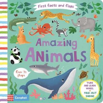 First Facts and Flaps: Amazing Animals