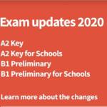 Изменения в международном экзамене KET c января 2020 года