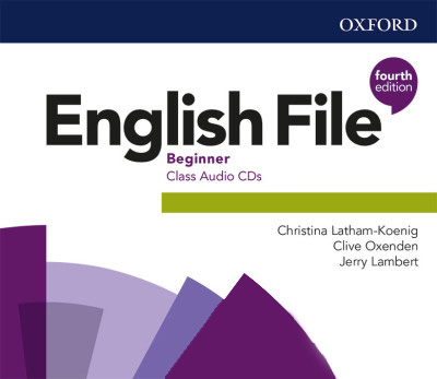 English File 4Ed Beginner Class Audio CDs