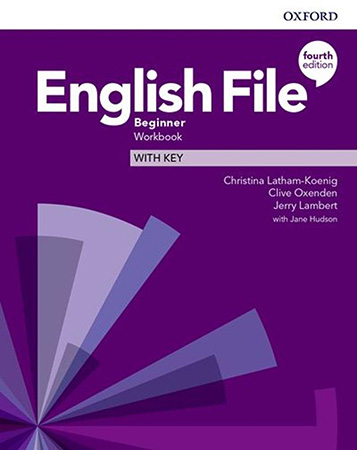 English File 4Ed Beginner Workbook with Key