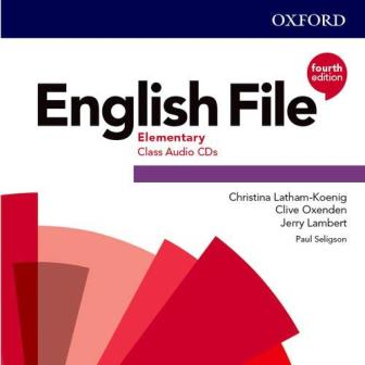English File 4Ed Elementary Class Audio CDs