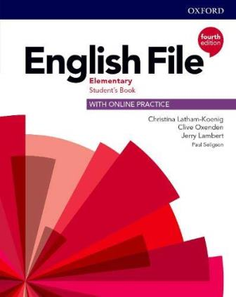 English File 4Ed Elementary Student's Book with Online Practice