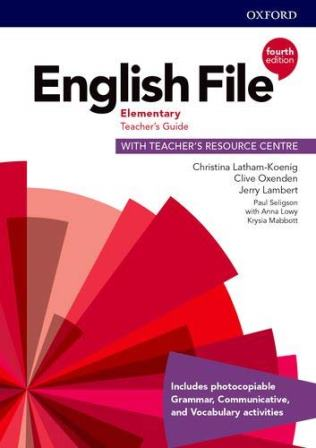 English File 4Ed Elementary Teacher's Guide with Teacher's Resource Centre