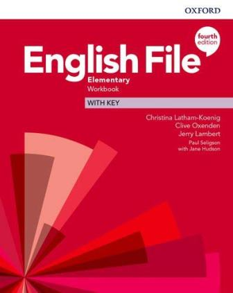 English File 4Ed Elementary Workbook with Key