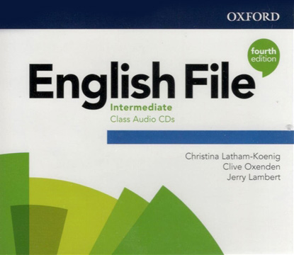 English File 4Ed Intermediate Class Audio CDs