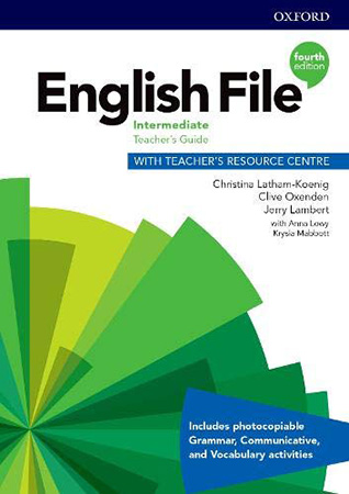 English File 4Ed Intermediate Teacher's Guide with Teacher's Resource Centre