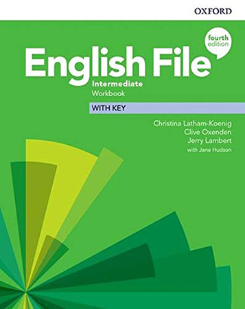 English File 4Ed Intermediate Workbook with Key