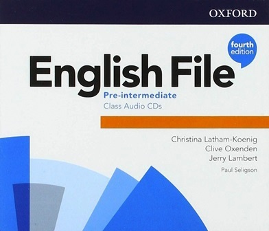English File 4Ed Pre-Intermediate Class Audio CDs